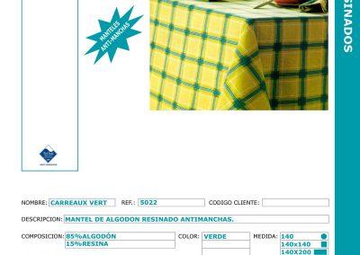 carreaux-vert-ref-5022